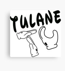 Mickey Mouse Hands Tulane Canvas Print