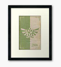 Triforce Crest Framed Print
