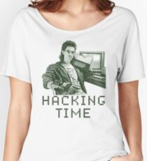 Hacking time Women's Relaxed Fit T-Shirt