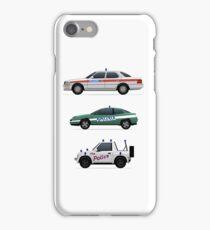 Police car challenge iPhone Case/Skin