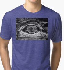 American Alligator, a little closer Tri-blend T-Shirt