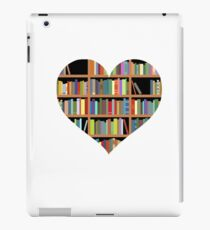 Books heart iPad Case/Skin