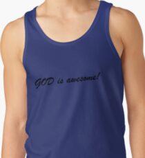 Camiseta de tirantes ¡Dios es genial!