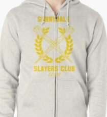 Sunnydale Slayers Club Zipped Hoodie