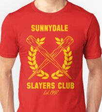 Sunnydale Slayers Club Slim Fit T-Shirt
