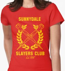 Sunnydale Slayers Club Tailliertes T-Shirt