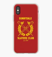 Sunnydale Slayers Club iPhone Case