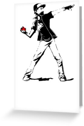 Banksy Pokemon by RileyRiot