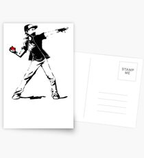 Banksy Pokemon Postcards