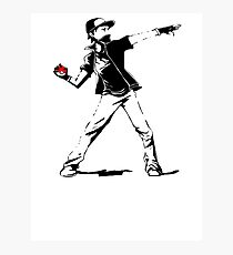 Banksy Pokemon Photographic Print