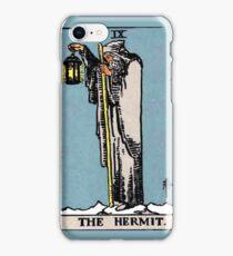 The Hermit Tarot Card  iPhone Case/Skin