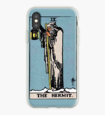 The Hermit Tarot Card  iPhone Case