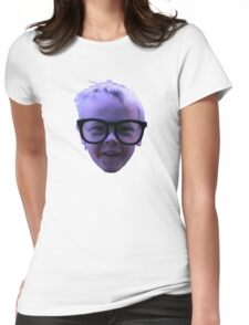Dorky Womens Fitted T-Shirt
