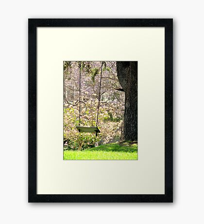 Close Your Eyes and Your There Framed Print