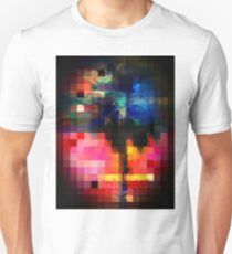 Colorful Tropical Collage Mosaic Unisex T-Shirt