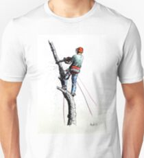 Arborist Tree Surgeon Lumberjack Logger Stihl T-Shirt