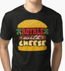 Pulp Fiction - Royale with cheese Tri-blend T-Shirt