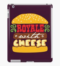 Pulp Fiction - Royale with cheese iPad Case/Skin