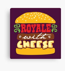 Pulp Fiction - Royale with cheese Canvas Print