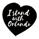 I Stand With Orlando - Black/Brown by Kirsten Chambers