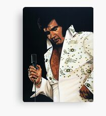 Elvis Presley Painting Canvas Print