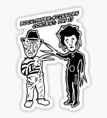 Ec & Fred Scissors Contest Sticker