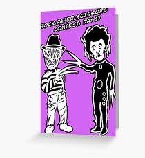 Ec & Fred Scissors Contest Greeting Card