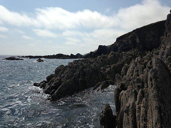 Ballycotton Rocks, Co. Cork, Ireland by Carpaccio