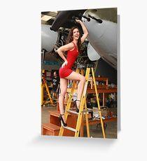 de Havilland Mosquito Greeting Card