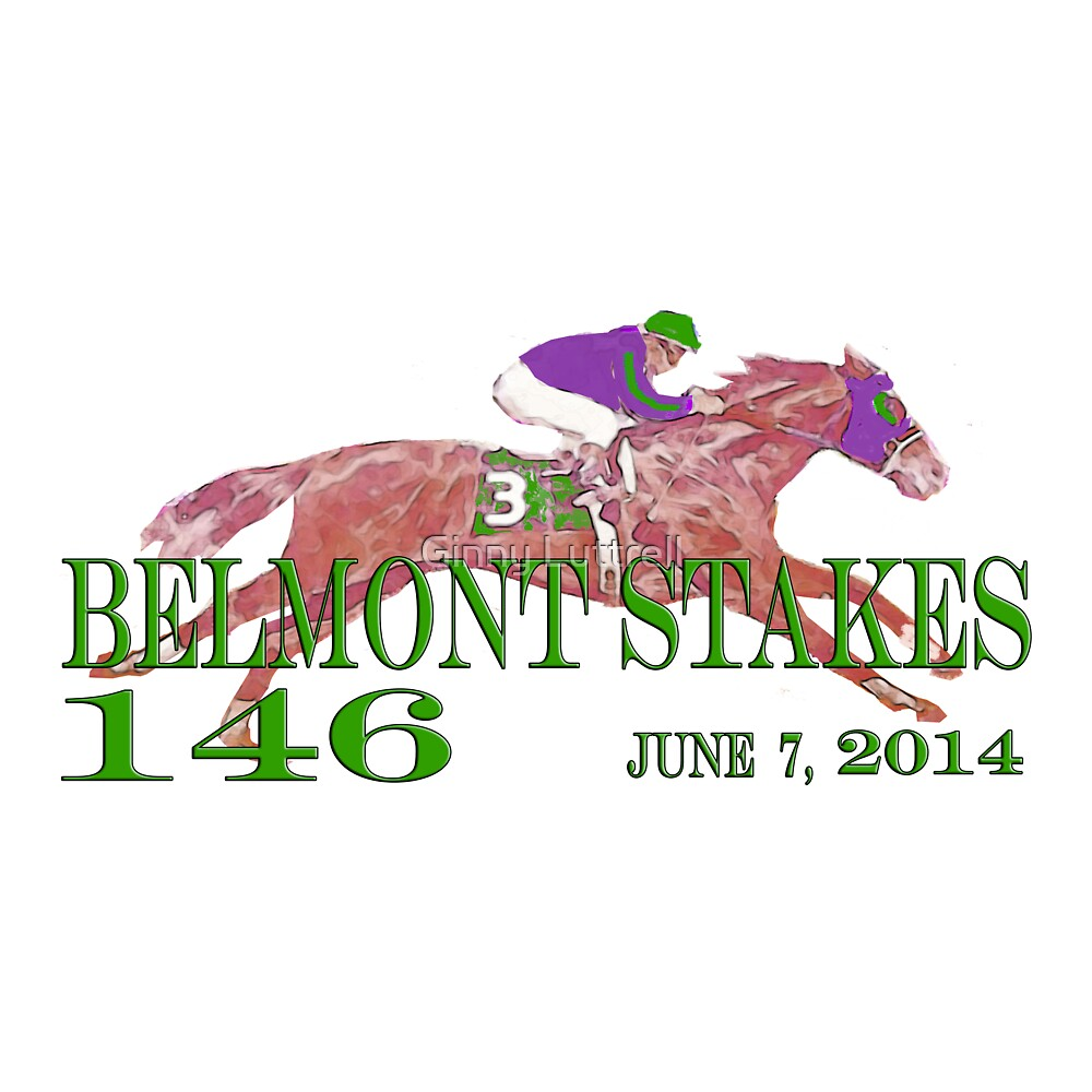 Belmont Stakes 2014 by Ginny Luttrell