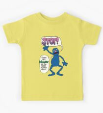 Monster on the Front of the Shirt Kids Clothes
