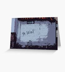 Another Brick In ....... Greeting Card
