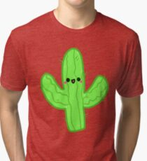 Happy Cactus Tri-blend T-Shirt