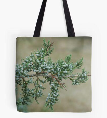 Junniper Berries Tote Bag