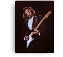Eric Clapton Painting Canvas Print