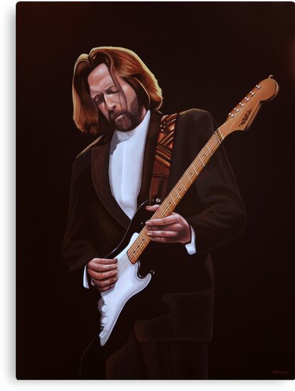 Eric Clapton Painting by PaulMeijering