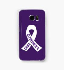 Cure Alzheimer's Ribbon Samsung Galaxy Case/Skin