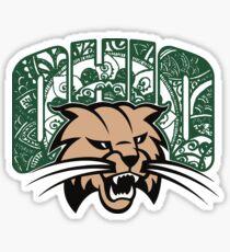 Ohio University doodle Sticker