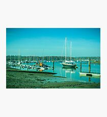 New Forest Boats II Photographic Print
