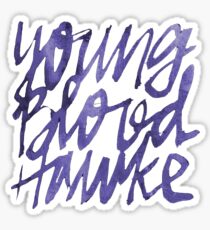 Youngblood Hawke PURPLE Sticker