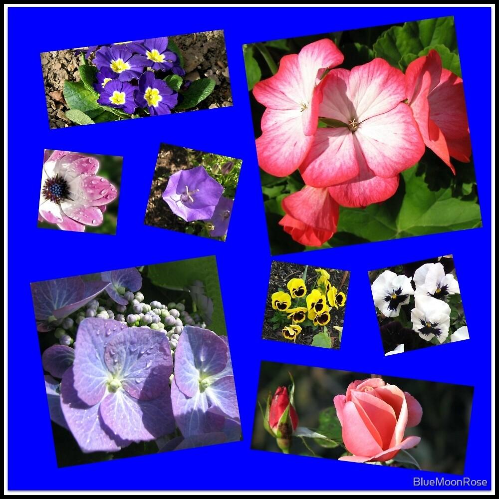 Blumen-Power-Collage von BlueMoonRose