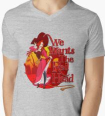 We Wants the Red Head Men's V-Neck T-Shirt
