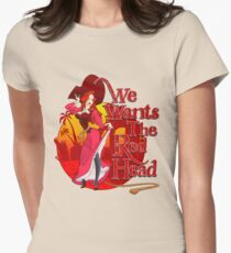 We Wants the Red Head Women's Fitted T-Shirt