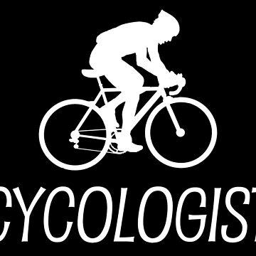 Lustiges Cycologist-Radfahren-T-Shirt von BeyondEvolved