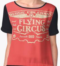 Bessie Coleman's Flying Circus Women's Chiffon Top
