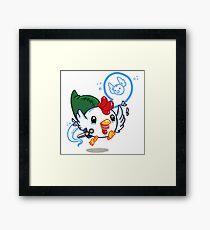 Cucco Link  Framed Print