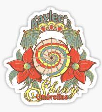 Kaylee's Shiny Umbrellas Sticker