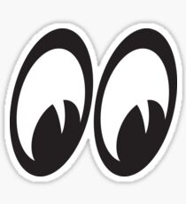 GOOGLY EYES (right) Sticker
