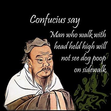 Confucius say by Immortalsushi