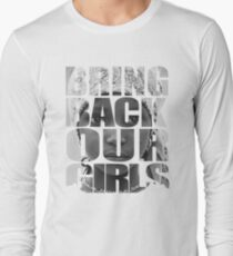 Bring Back Our Girls Langarmshirt